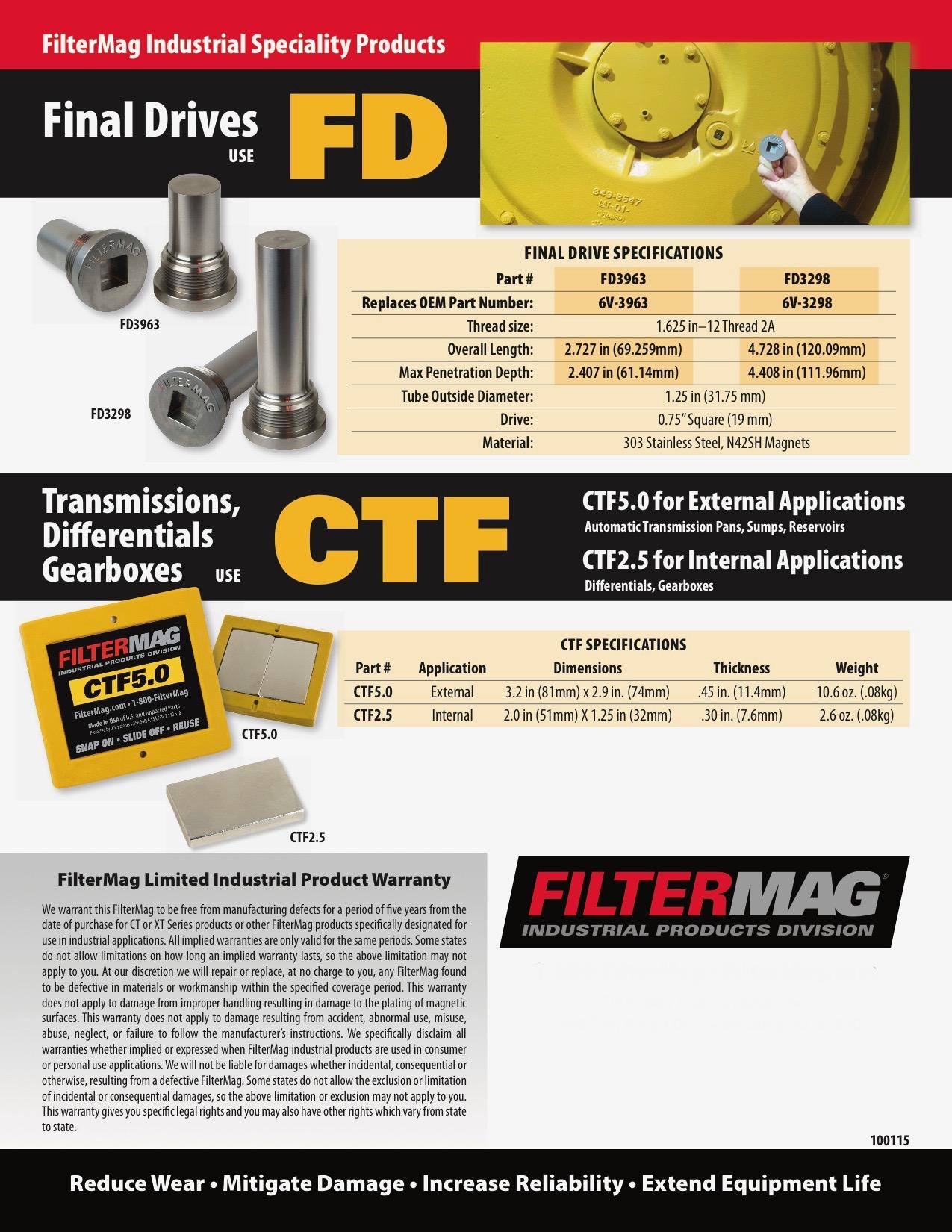 FilterMag Final Drive